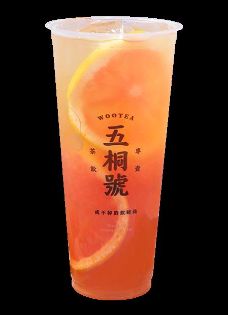 蜂蜜鮮柚冰茶