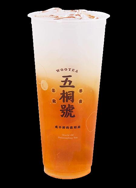 綠茶凍楊桃冰茶
