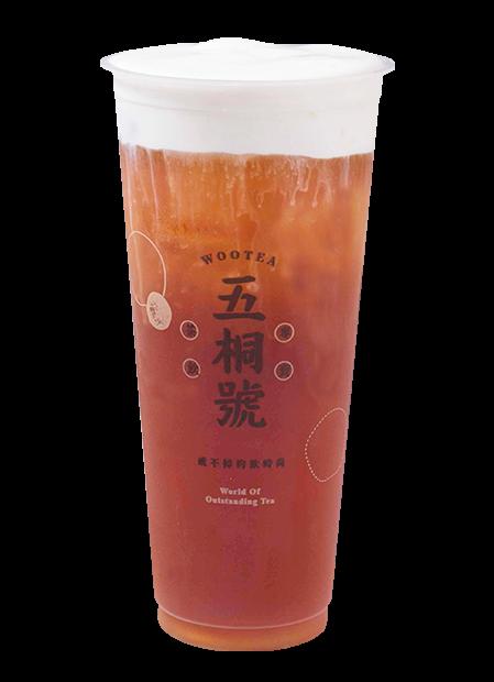 老實人奶霜紅茶
