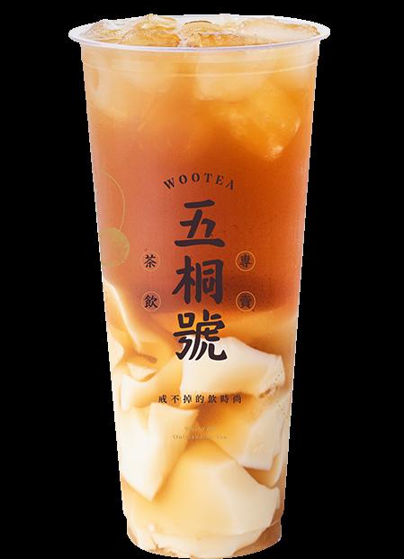 豆漿凍紅茶